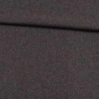 Кашемир шерстяной костюмный серый в диагональные полосы ш.157