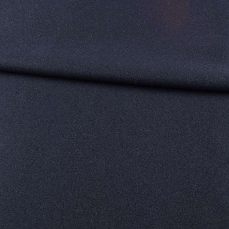 Шерсть костюмна синя темна ш.155