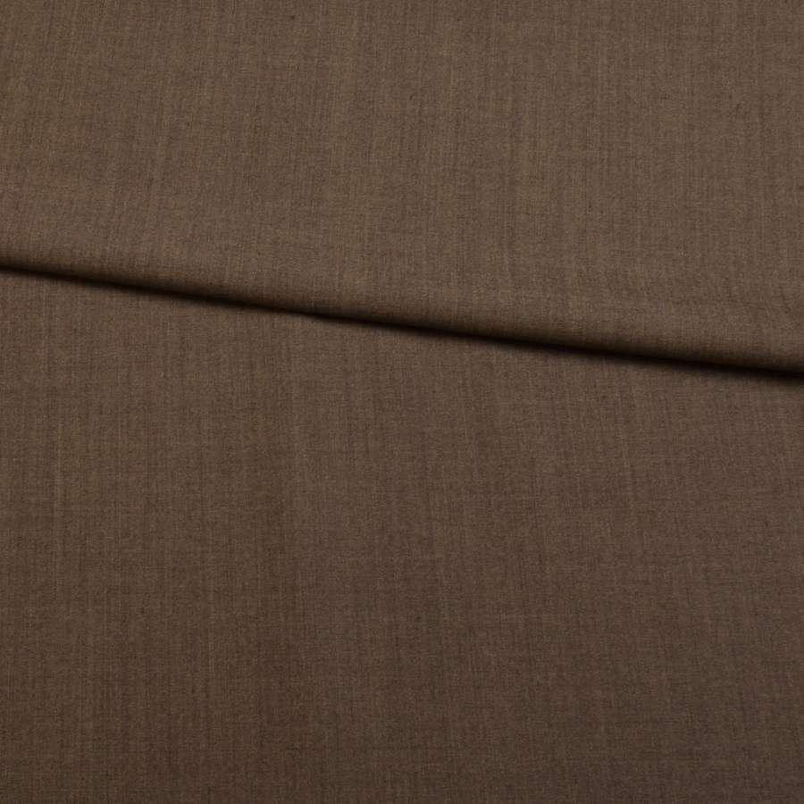 Шерсть стрейч коричнева ш.151