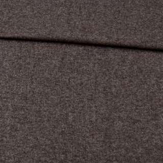 Кашемир шерстяной костюмный коричнево-серый ш.150