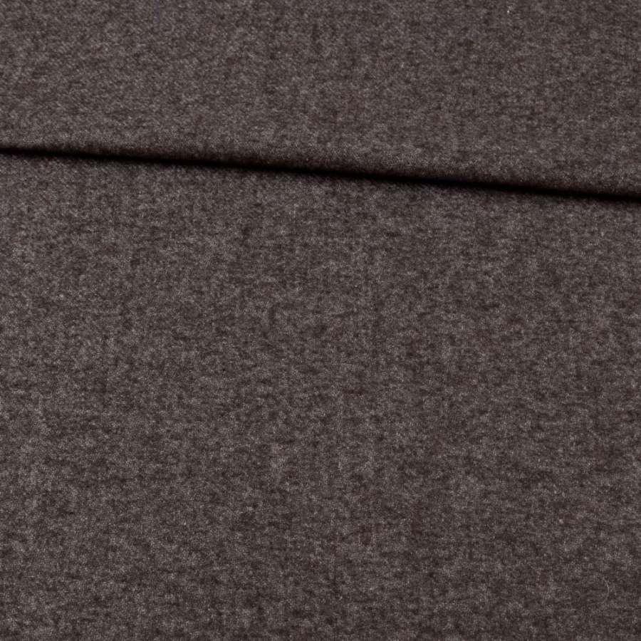 Кашемір вовняний костюмний коричнево-сірий ш.150