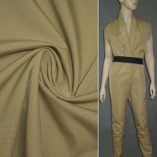 Тканина костюмна бежева ш.142
