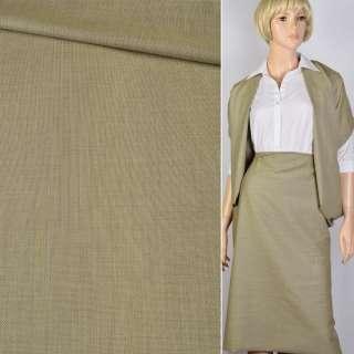 Ткань костюмная горчичная Германия ш.156