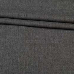 Ткань костюмная серая в светло-серую точку, ш.160