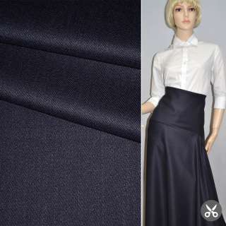 Ткань костюмная темно-синяя Германия ш.160