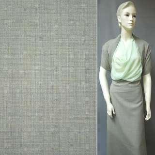 Шерсть костюмная оливковая ш.155