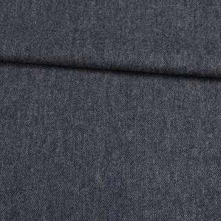 Шерсть костюмная серо-синяя меланж, ш.155