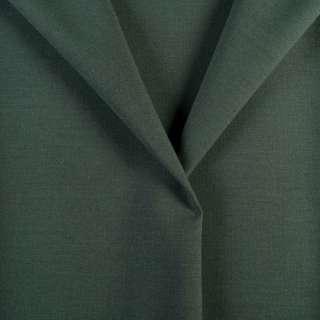 Ткань костюмная зелено-серая, ш.154
