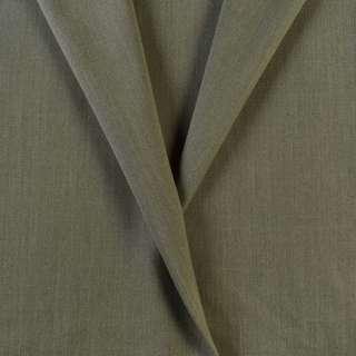 Ткань костюмная оливковая, ш.153
