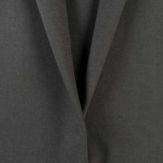 Шерсть костюмная серая маренго, ш.150