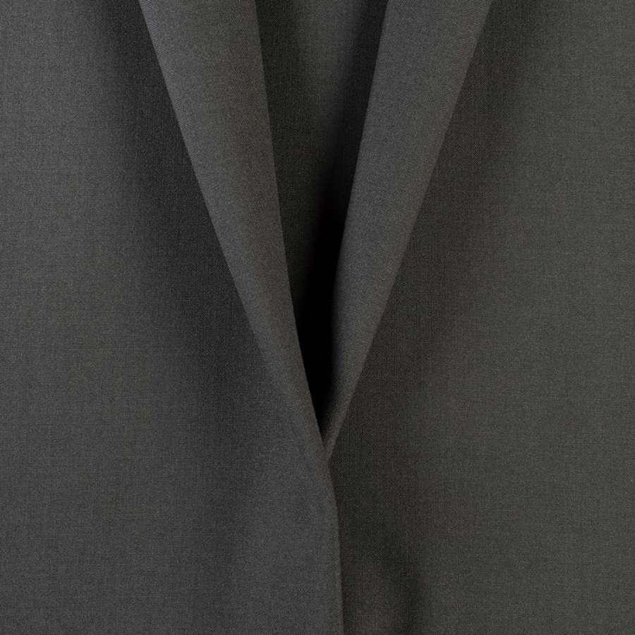 Ткань костюмная серая маренго, ш.150