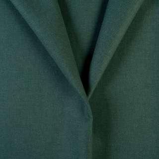 Ткань костюмная зеленая хвойная, ш.155