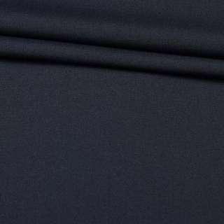 Ткань костюмная синяя темная, ш.160