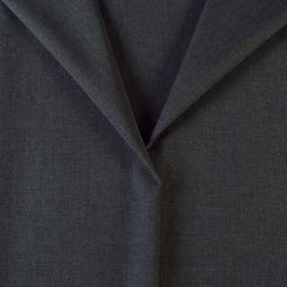 Ткань костюмная серая темная, ш.150