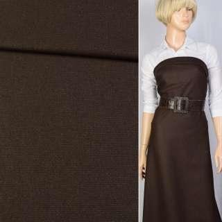 Шерсть Becker коричневая с серебристым люрексом, ш.150