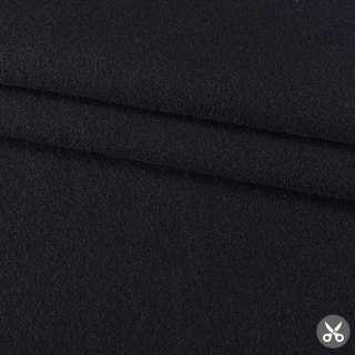 """Кашемир шерсть с полиакрилом костюмный """"Сеrruti"""" черный ш.158"""