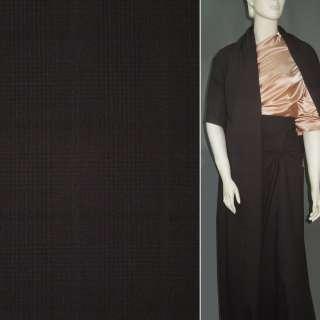 Ткань костюмная темно-коричневая ш.150