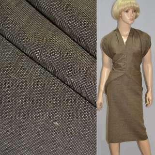 Тканина костюмна світло-коричнева Німеччина ш.147