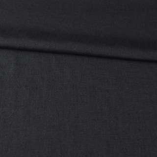 Лен костюмный черный Германия ш.150