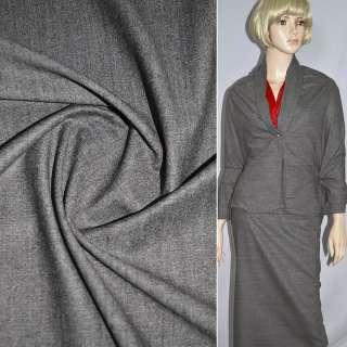 Шерсть костюмная светло-коричневая ш.160