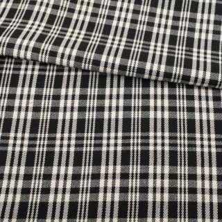 Шотландка GERY WEBER двухсторонняя черно-белая клетка/черная