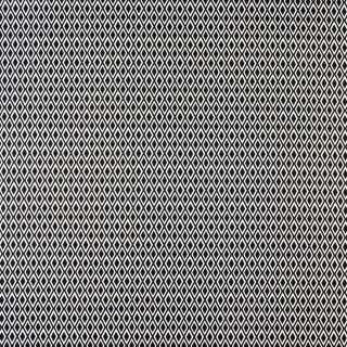 Коттон стрейч черный в белые ромбы, ш.150