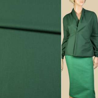 Котон стрейч 2-ст. зелений / зелений темний ш.160