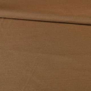 Поплин коричневый, ш.145