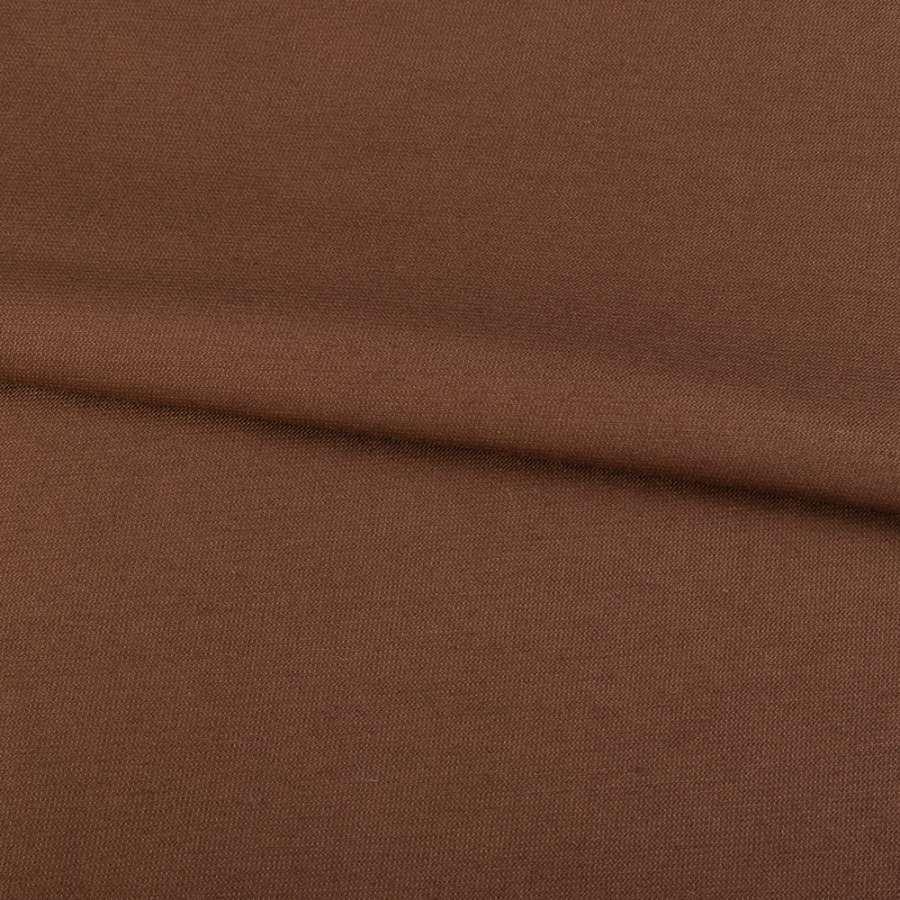 Коттон стрейч коричневый темный, ш.155