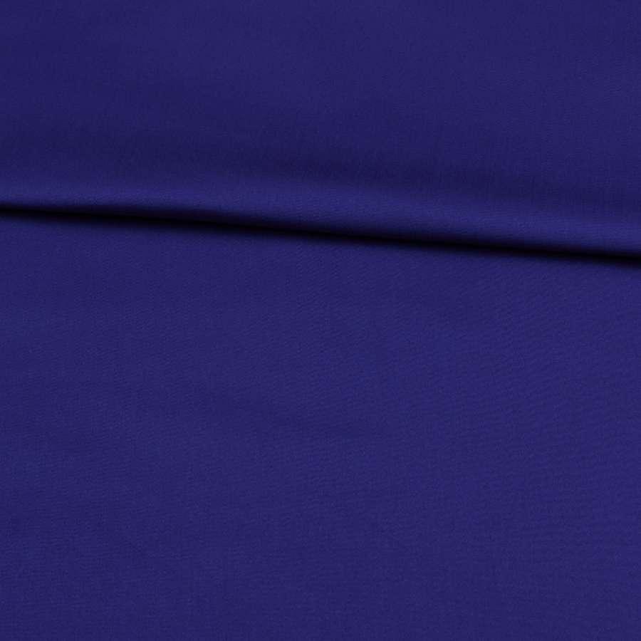 Коттон стрейч синій, ш.145