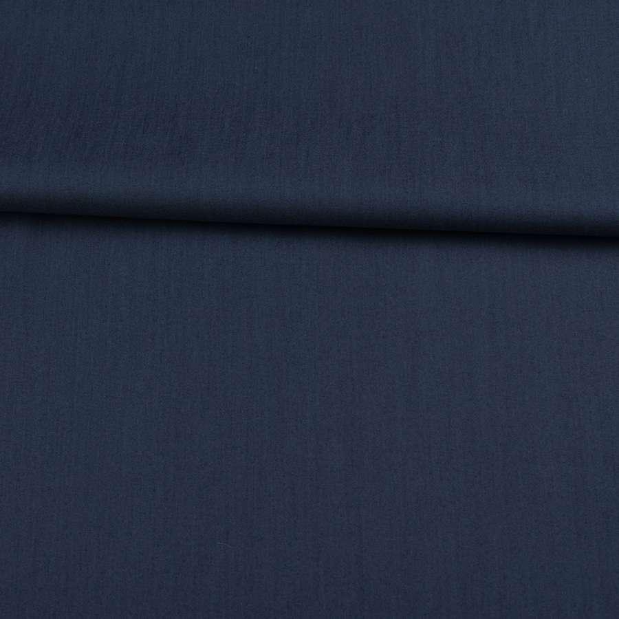 Коттон стрейч синий ш.145