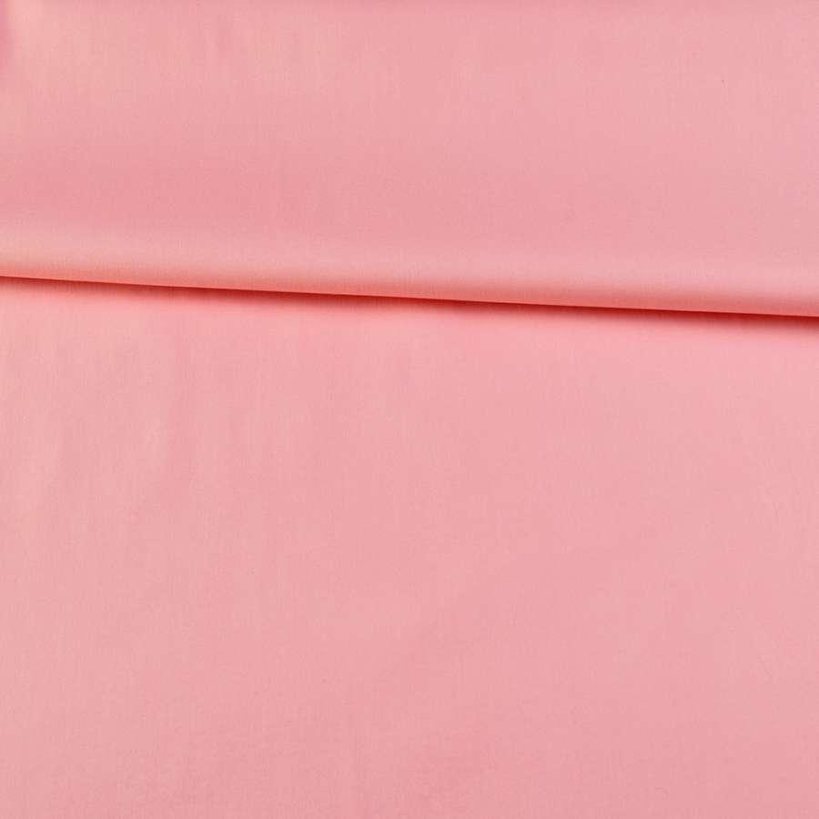 Коттон стрейч розовый ш.140