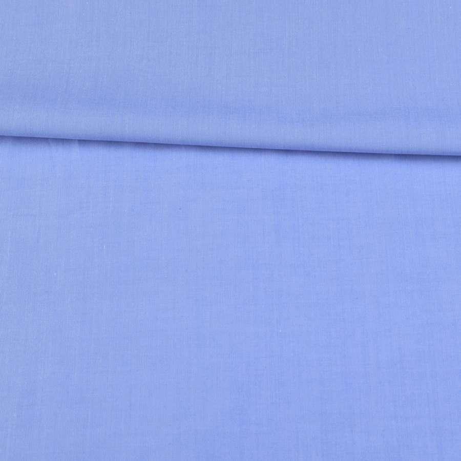 Коттон голубой ш.145