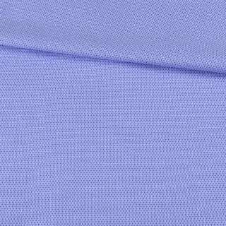 Котон жакардовий блакитний в світлі дрібні стільники ш.150