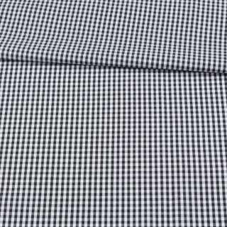 Котон в чорно-білу дрібну клітку ш.150