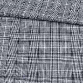 Шотландка черно-белая ш.156