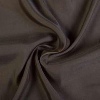 Купра костюмна коричнево-сіра, ш.135