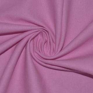 Лен стрейч розовый ш.134