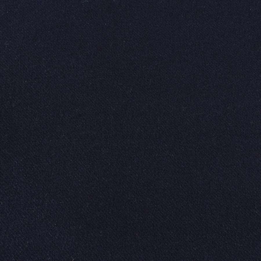 Шерсть BECKER пальтовая синяя темная, ш.152