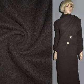 Кашемір темно-коричневий ш.150