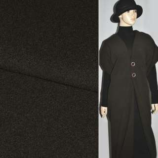 Кашемир темно-коричневый ш.150
