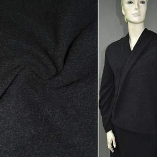 Тканина пальтова темно-сіра (кашемір) ш.150