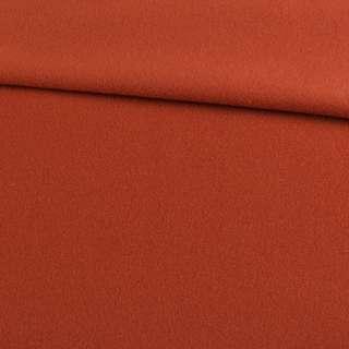 Кашемир пальтовый терракотовый, ш.150