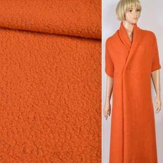 """Трикотаж пальтовий """"GERRY WEBER"""" ворсовий помаранчевий, ш.119"""