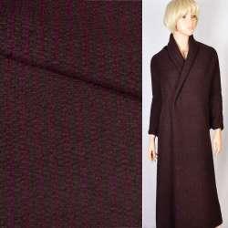 """Трикотаж """"GERRY WEBER"""" коричневый в фиолетовую полоску, ш.150"""