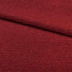 "Трикотаж пальтовый ""GERRY WEBER"" бордовый, ш.150"