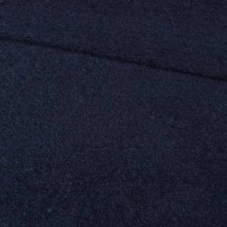 """Трикотаж пальтовий """"GERRY WEBER"""" синій темний, ш.150"""