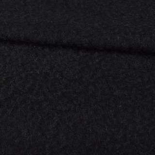 """Трикотаж пальтовий """"GERRY WEBER"""" чорний ворсовий, ш.150"""