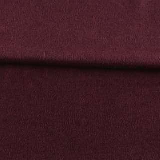 Кашемир пальтовый вишневый ш.150