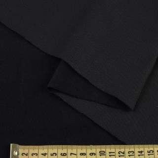 Полотно трикотажное с ворсистой стороной черное ш.155